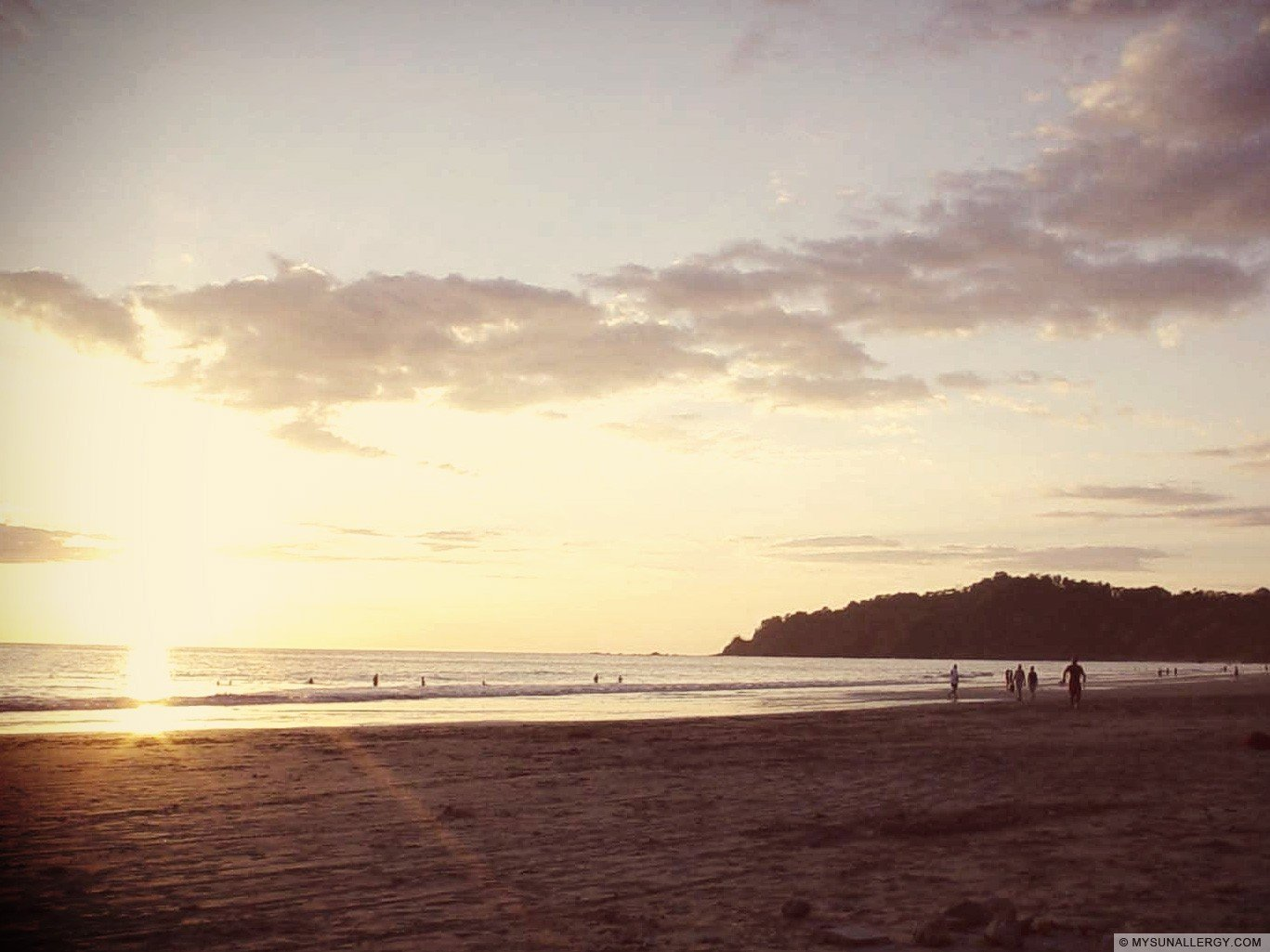 Beach, Manuel Antonio, Costa Rica